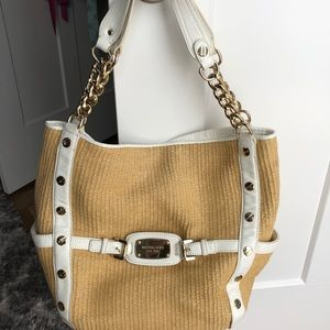 Women Michael Kors Straw Bag on Poshmark